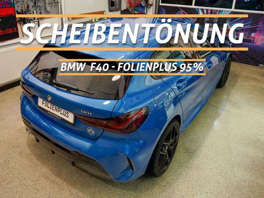 Scheibentönung BMW F40 Frankfurt