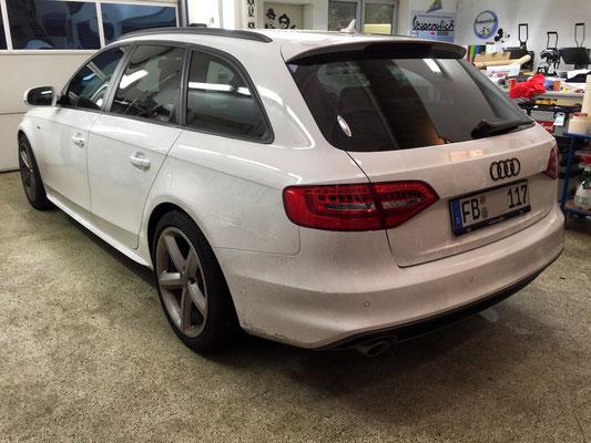 Tönungsfolie Scheiben Audi A4 Avant