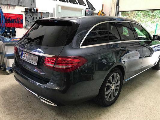 Scheibentönung 75% Mercedes C-Klasse