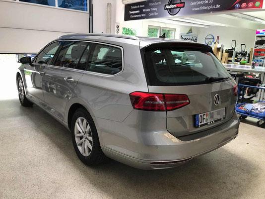 VW Passat Variant vor der Scheibentönung