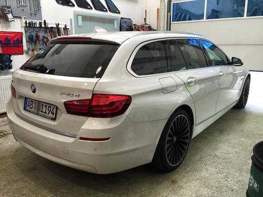 Autoglastönung BMW F11 75% Panthera
