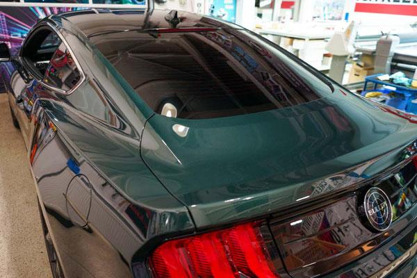 Getönte Heckscheibe Ford Mustang