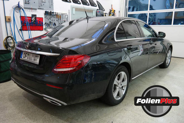 Vor der Folierung Mercedes E-Klasse