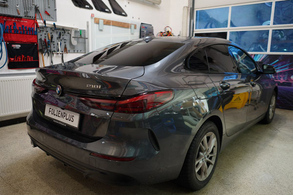 Fahrzeugfolierung BMW Gran Coupe