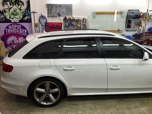 Fenster verdunkelung Audi A4 Avant 75% Panthera