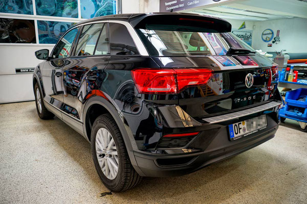 Scheibentönung 85% VW T-Roc