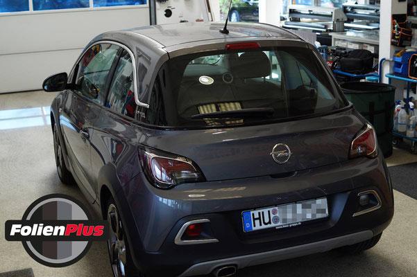 Vor der Teilfolierung bei FolienPlus am Opel Adam