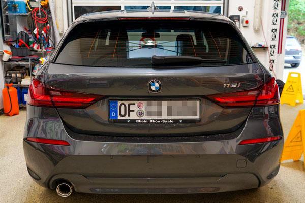 Autoglasfolierung 1er BMW 2021 - Offenbach