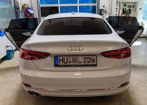 Audi Auto Scheibentönung