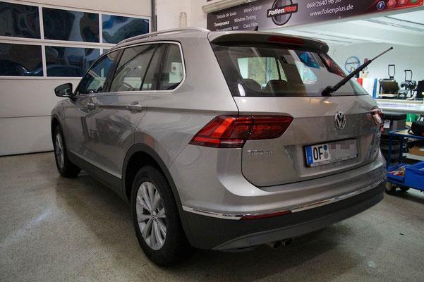VW Tiguan II vor der Scheibentönung - aus Offenbach