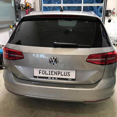VW Passat Variant Scheibentönung mit 85% Llumar ATR