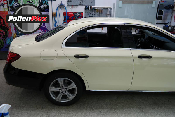 Mercedes W213 E-Klasse Taxifolierung Offenbach