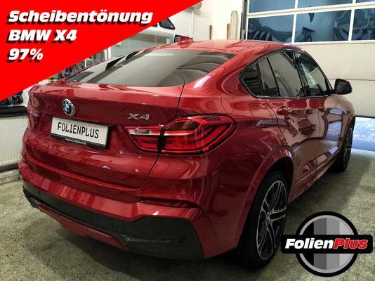 Scheiben tönen beim BMW X4
