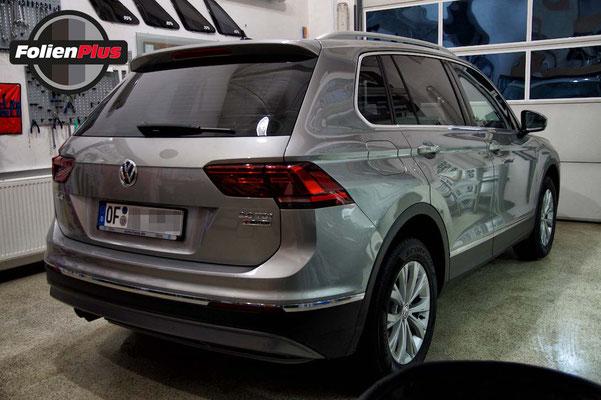 VW Tiguan II nach der Folierung