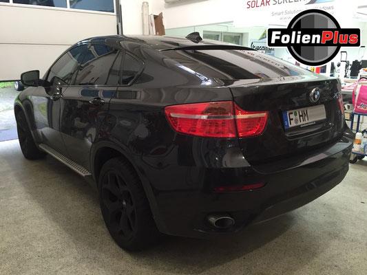 Auto Scheiben tönen am BMW.