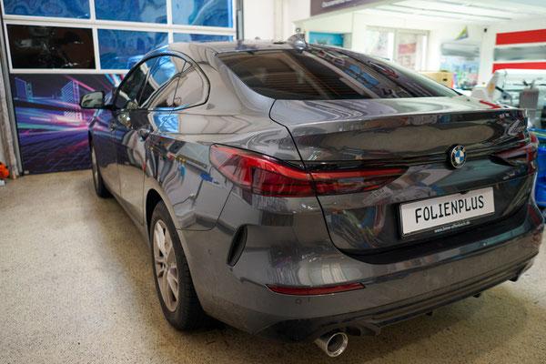 Scheibenfolierung BMW Gran Coupe 95% Panthera