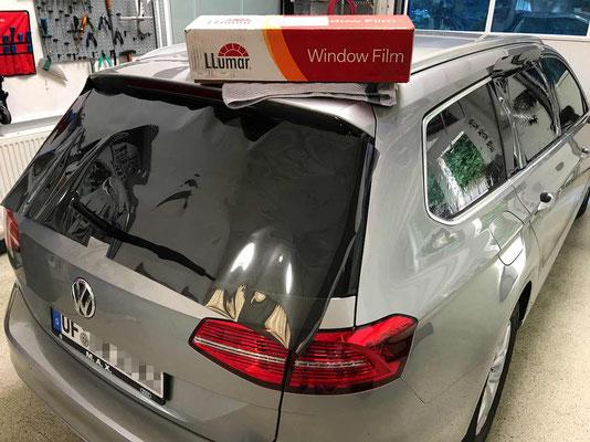 Scheiben tönen am VW Passat mit 85% Llumar ATR