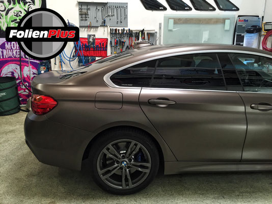 Scheibentönen am 4'er BMW Gran Coupe