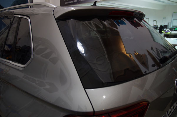 VW Tiguan II - Heckscheibenfolierung