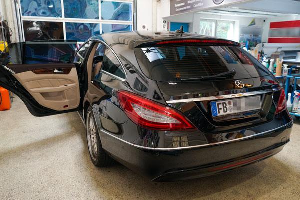 Scheibentoenung Mercedes-Benz 85% Nano-Keramik Folie
