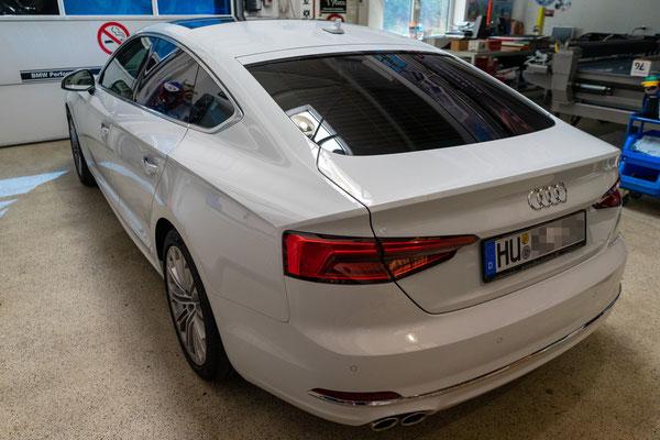 Scheibentönung Audi A5 Sportback aus Hanau