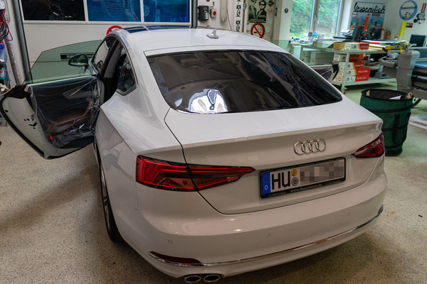 Scheiben tönen Audi A5 F5 Llumar