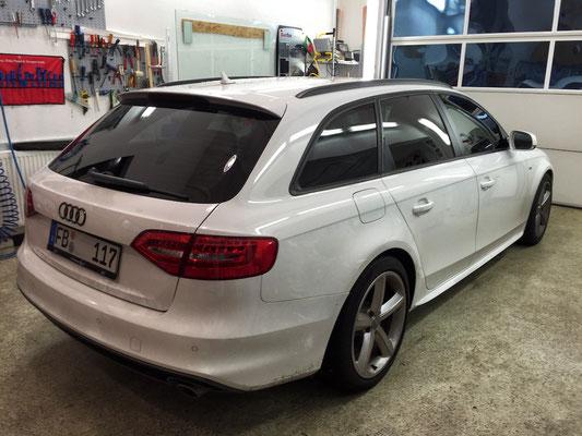 Fenster tönen nachher Audi A4 Avant
