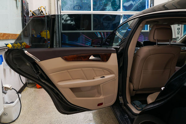 Seitenscheiben folieren Mercedes Kombi