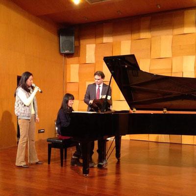 Classe de maître à Shenzhen University