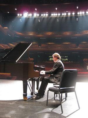 Répétition pour un concert en Chine (2013)