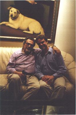 Avec Leon Fleisher (1998)