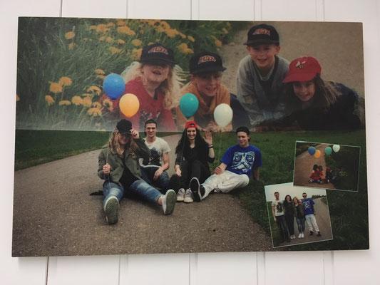 Foto auf Holz gedruckt mit UV-Direktdrucker
