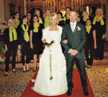 2011 Matrimonio Bettina & Martin a Rencio