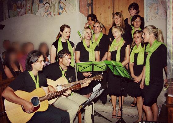 2009 Hochzeit Silvia & Thomas in St. Magdalena mit Walter Unterhauser und Geri Gramm