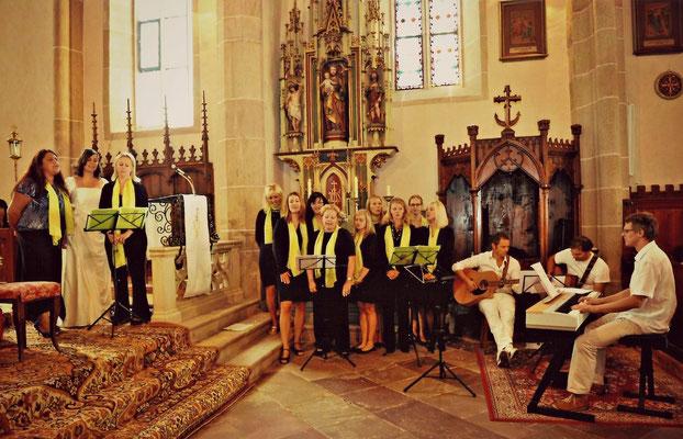2010 Hochzeit Barbara & Florian in Mölten mit Geri Gramm, Wolfi Gruber und Peter Mizzi Mittermaier