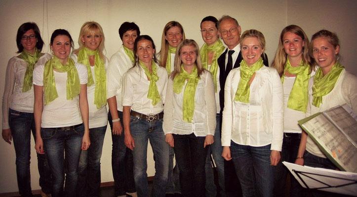 2011 Firmung Rentsch-Bozner Boden mit unserem Herrn Pfarrer Oberhauser