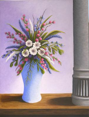 Vaas met bloemen, Nel Bruinsma