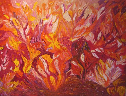 Bloemen explosie, Maria Treuren