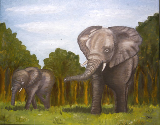 Olifanten, Coby Noordam