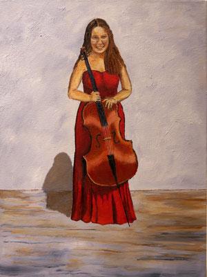 Dochter met cello, Hellen Richardson
