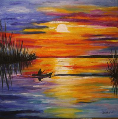 Eenzame visser, Ineke Schoenmaker