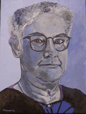 zelf portret , Hedi Hegeman