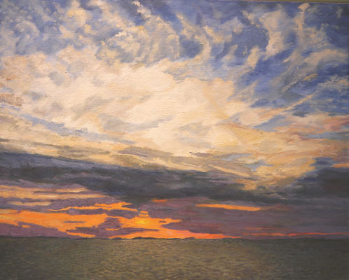 Zonsondergang. Helen Richardson