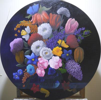 Bloemenstilleven , Erna van Schaik