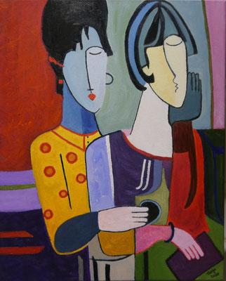 Kubistische figuren , Tanja Horsthuis