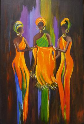 afrikaanse vrouwen , Agnes de Vries
