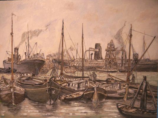 Rotterdamse haven , Derk Eijkenbroek