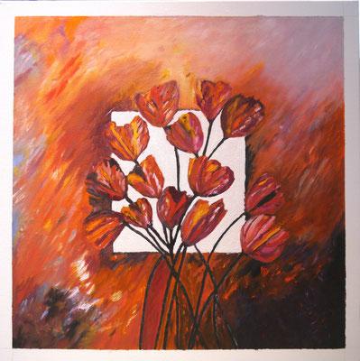 Tulpen, Maria Treuren