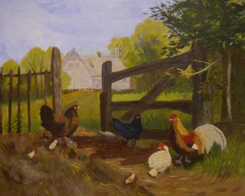 Het goede landleven, Thea de Bruijn