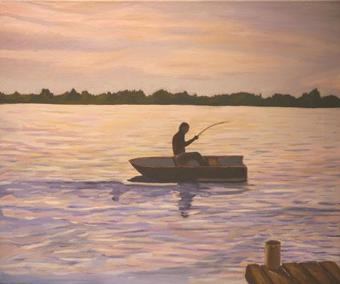 Avondje vissen op de Westeinder, Bianca Straathof